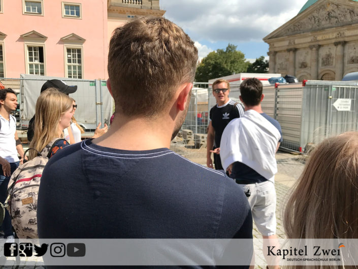 Guided tour Berlin englisch Language school Berlin