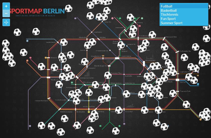 Sportmap Berlin