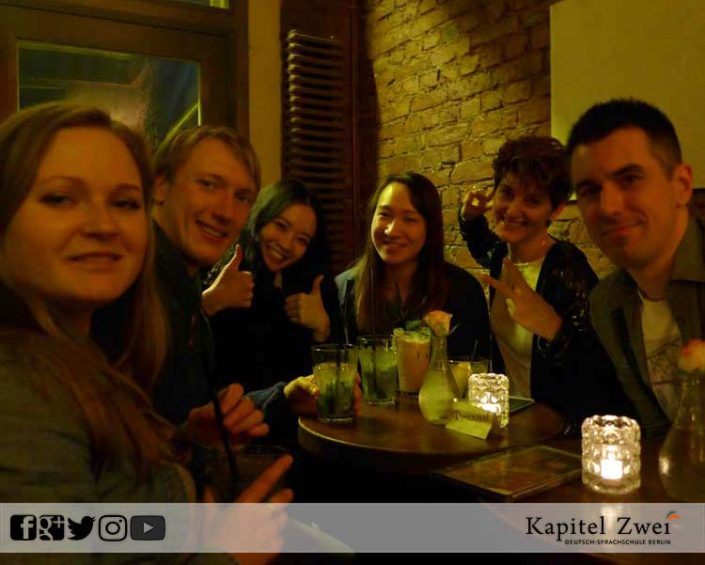 Kapitel Zwei make friends in Berlin 07