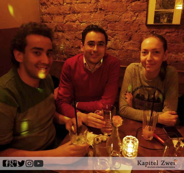 Kapitel Zwei make friends in Berlin 11