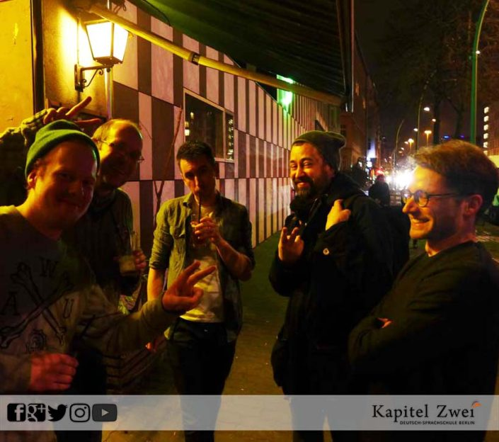 Kapitel Zwei make friends in Berlin 13