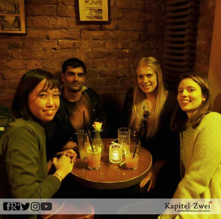 Kapitel Zwei make friends in Berlin 14