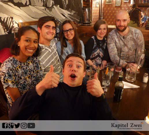 Kapitel Zwei Berlin language school friends