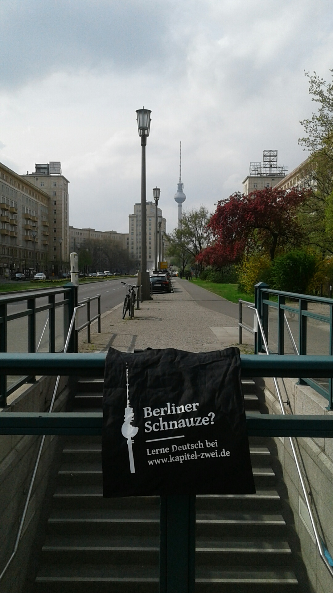 Notes from the East Berlin: Karl Marx Allee