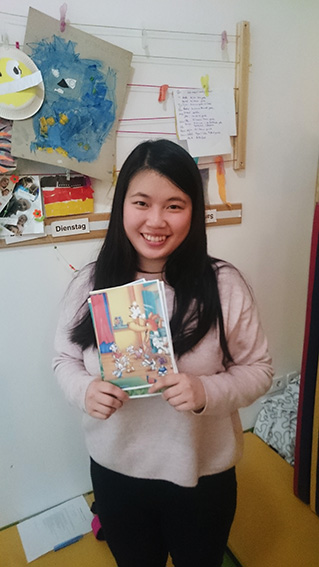 Kapitel Zwei Vorleserin Kita