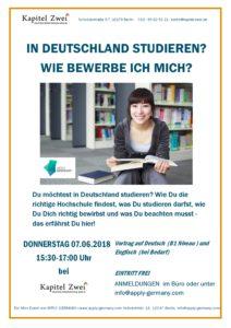in deutschland studieren wie bewerbe ich mich - Wie Bewerbe Ich Mich Fr Ein Studium
