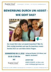 Hilfe Bei Uni Assist An Deiner Sprachschule Für Deutsch In Berlin