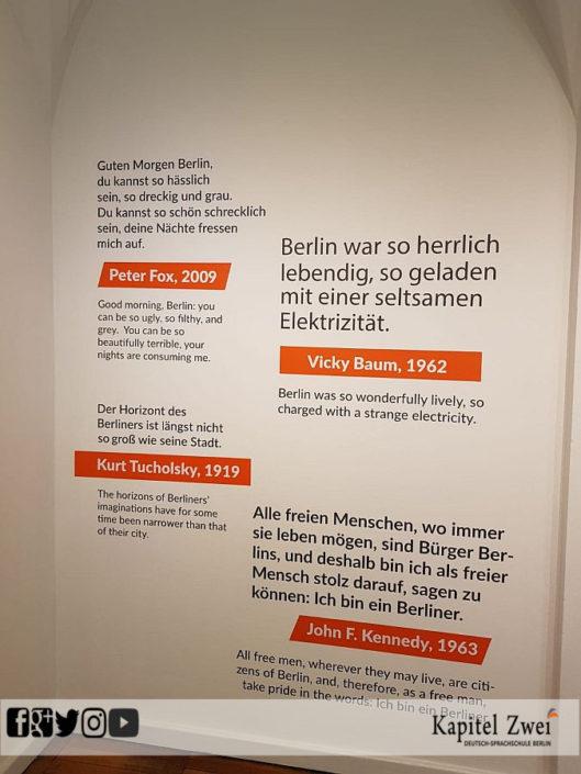 German language school Berlin Alexanderplatz
