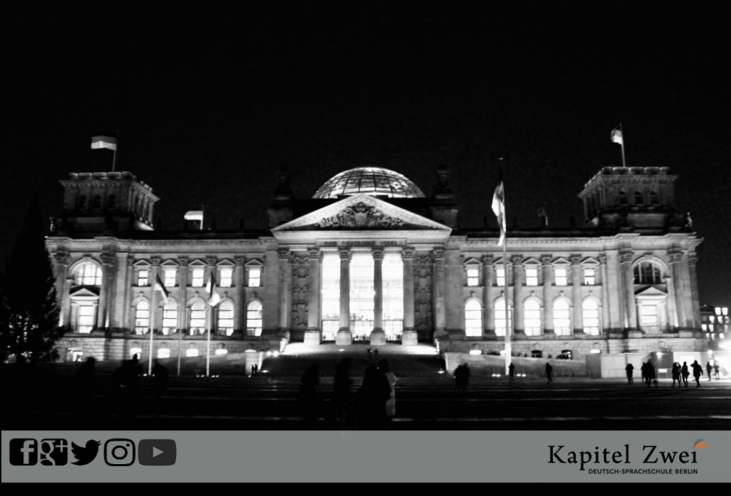 Reichstag Berlin German Sprachschule language school