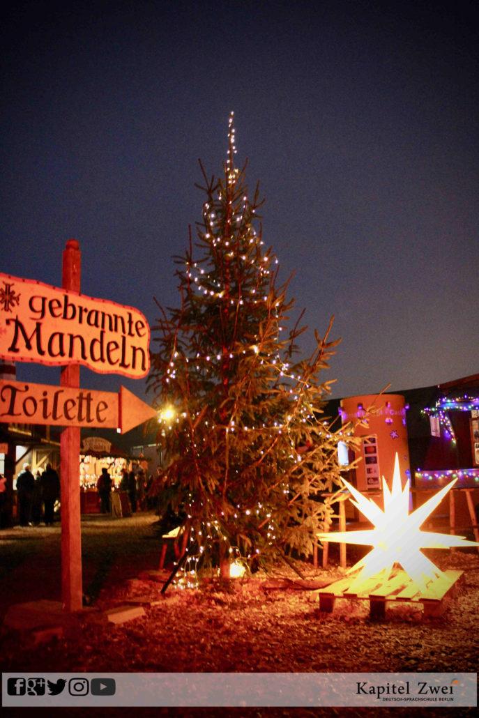 Weihnachtsmarkt Berlin Christmas Deutsch German Sprachschule