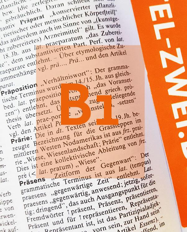 Cours de grammaire d'allemand Berlin