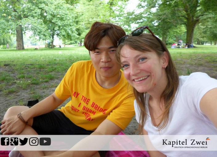 Deutschkurs Berlin Picknick