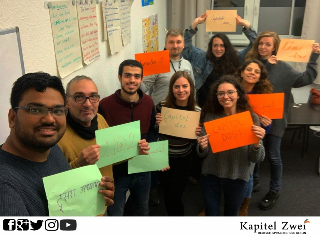 German course Kapitel Zwei Berlin