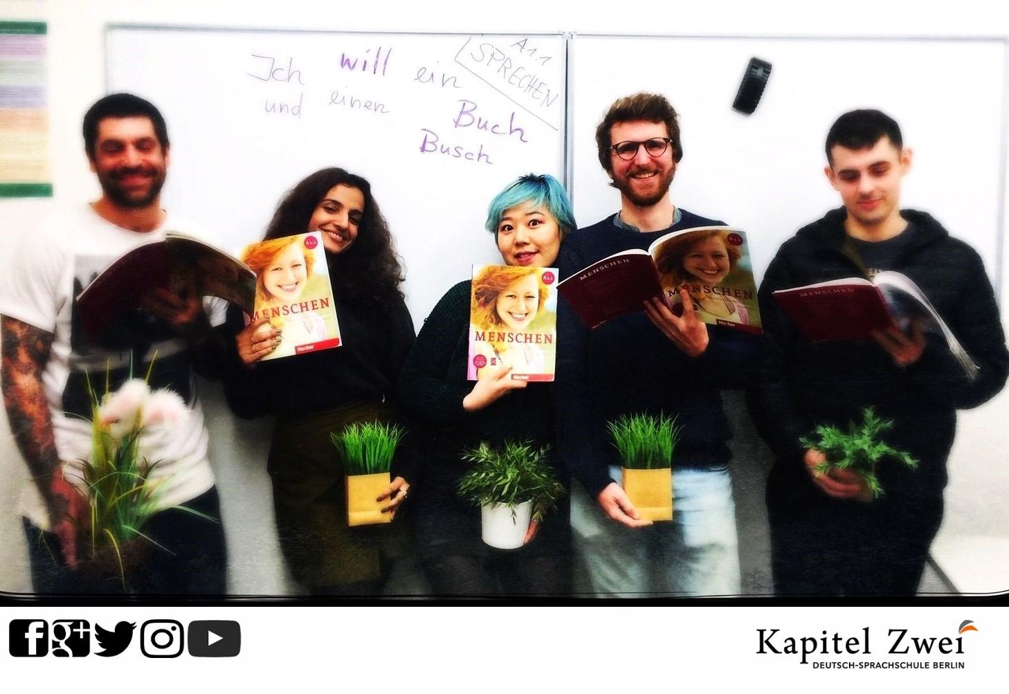 German course Kapitel Zwei Berlin