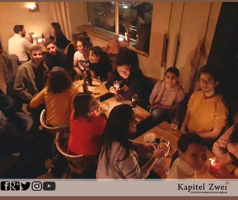 Curso de alemão Kapitel Zwei Berlim