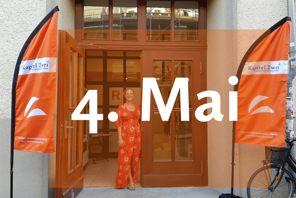 Kapitel Zwei Berlin Start der Deutschkurse Mai