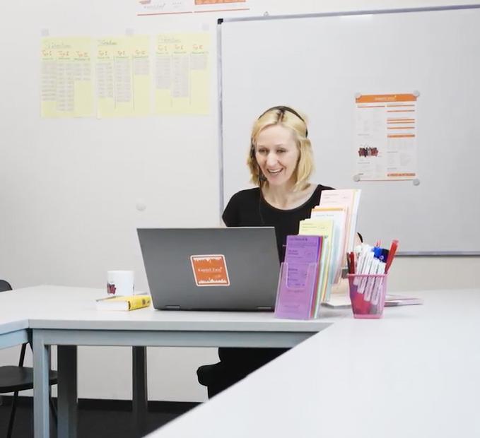 Kapitel Zwei Online lessons Deutsch lernen virtuell