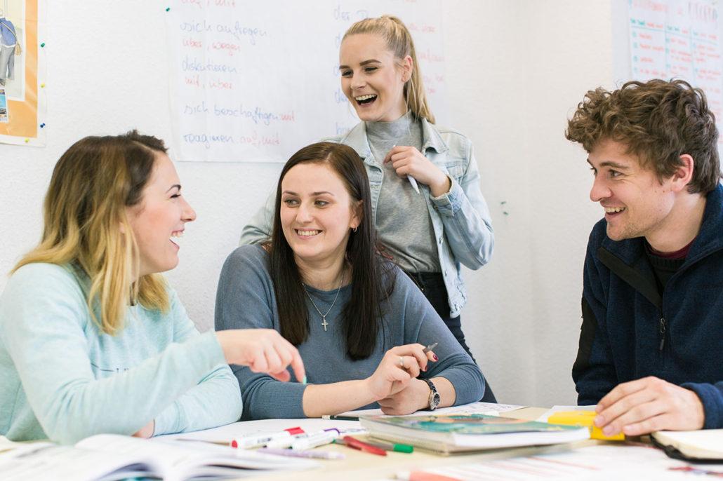 German conversation course in Berlin Kapitel Zwei