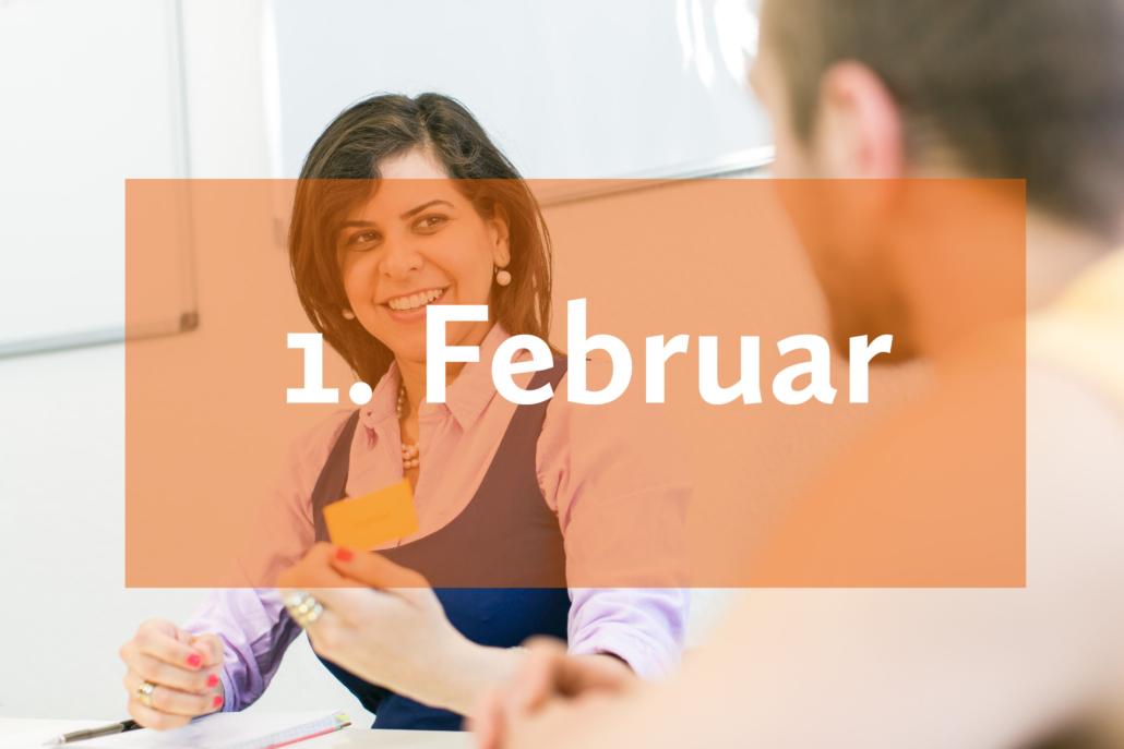 Deutsch lernen im Februar