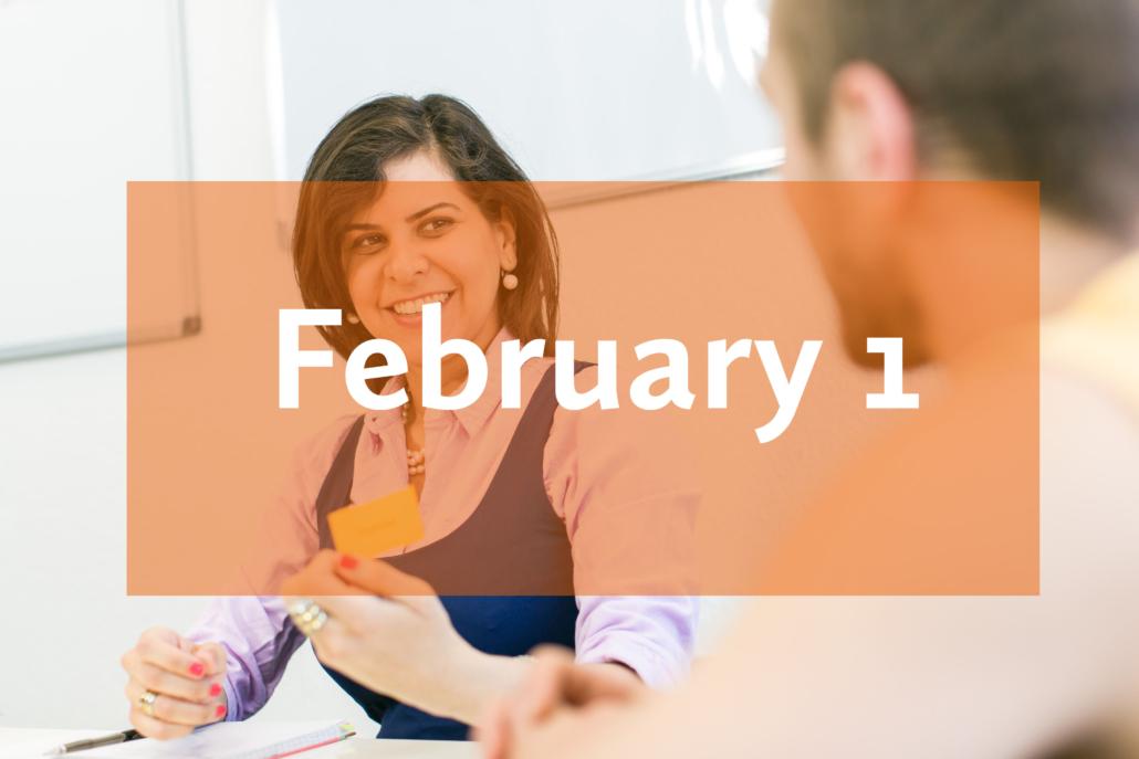 Learn German in February