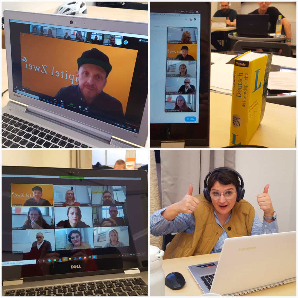 Online Live German course teacher