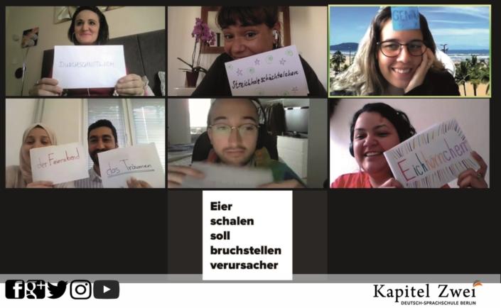 Курс немецкого языка Kapitel Zwei Berlin