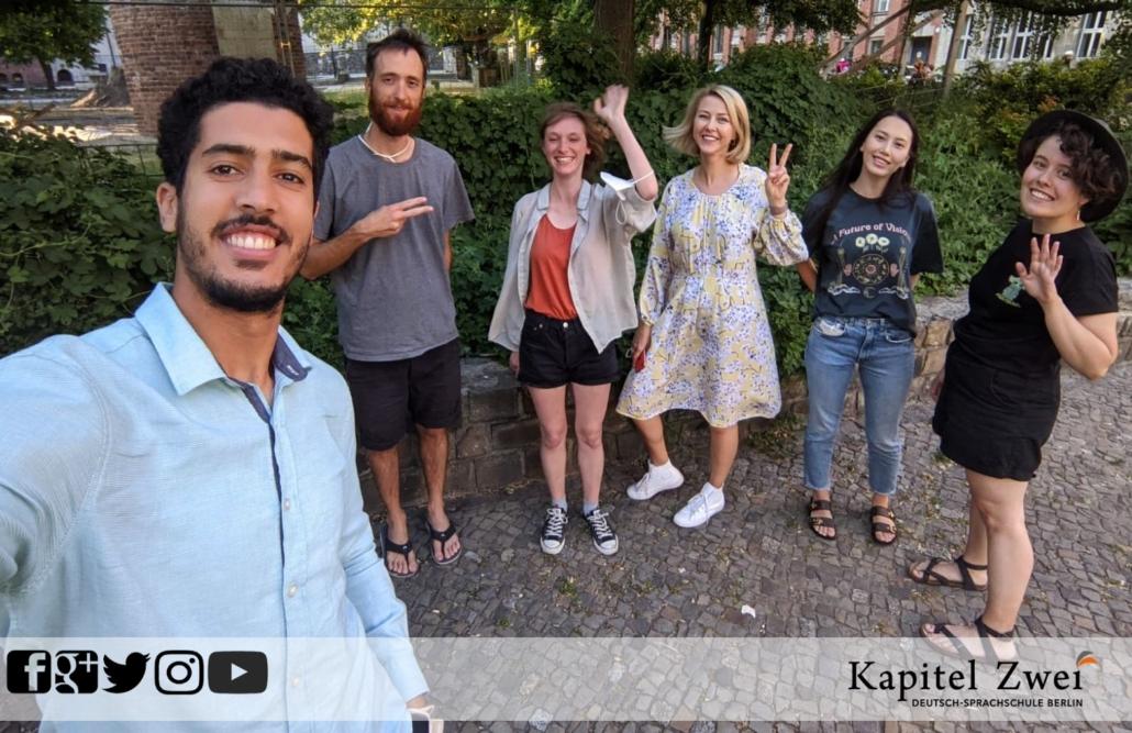 Cours d'allemand Kapitel Zwei Berlin